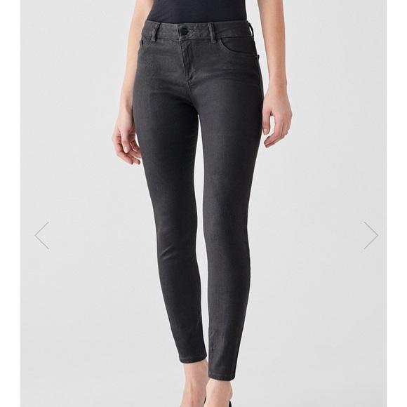 DL1961 Denim - DL1961 Florence mid rise skinny jeans pewter 25